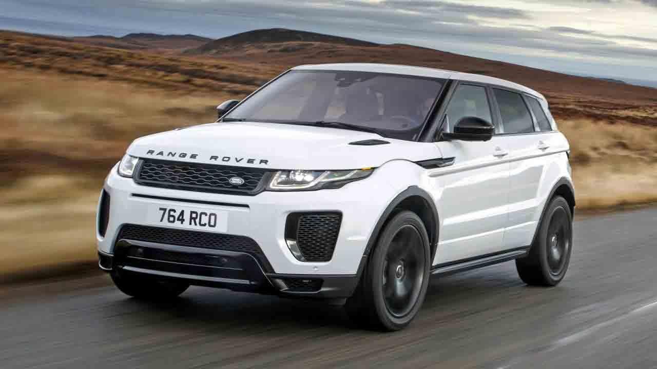 ремонт и обслуживание Range Rover Evoque